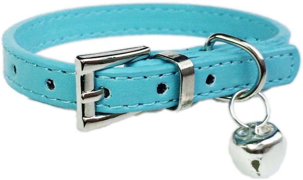 IEason Pet Collar, Hot Cute Bell Bell Collar Small Dog Collar Cat Collars Necklace