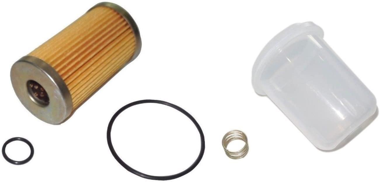 New Kubota Fuel Filter/BOWL/Spring MX4700 MX5000 MX5100