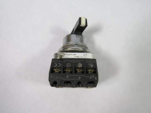 Furnas 52SB2CABA2 Series F Selector Switch 2NO/2NC 3-Position