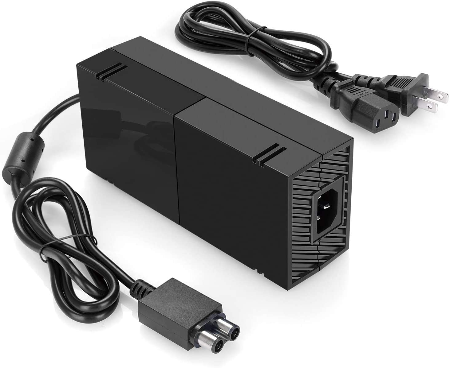 Goodgo Power Supply Brick for Xbox One,AC Adapter Cable Replacement Kit for Xbox One Console with US Plug Charger Cord Replacement 100-240V 220W