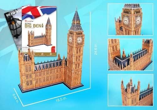 Big Ben 3D Puzzle with Book 117 Pieces