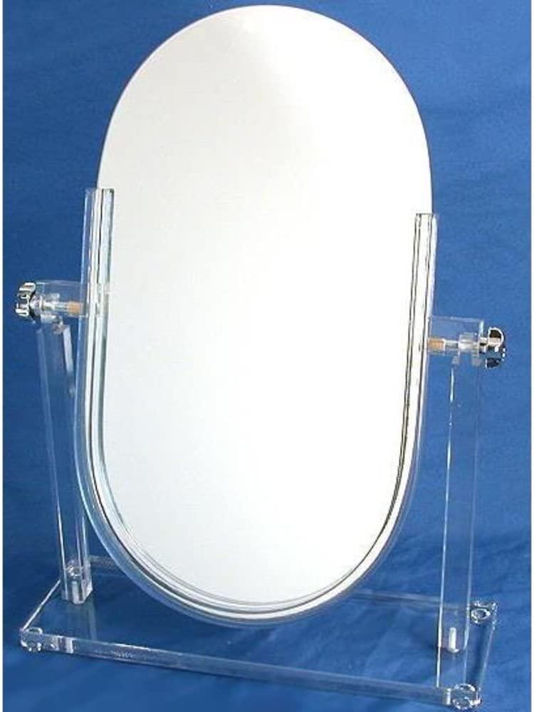 Vanity Adjustable Mirror Jewelry Countertop Display
