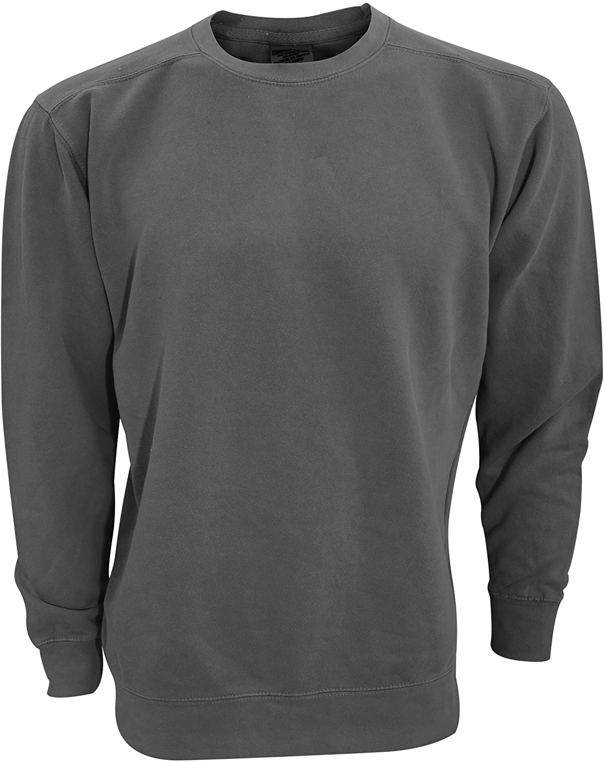 Comfort Colors Adults Unisex Crew Neck Sweatshirt, Graphite, XX-Large