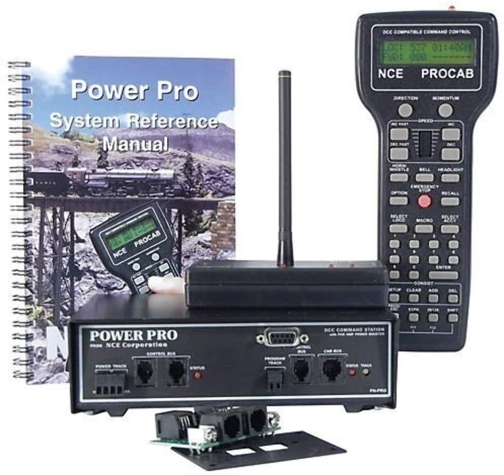 NCE NCE5240002 Power Pro Starter Set w/Radio, PH-PRO-R/5A