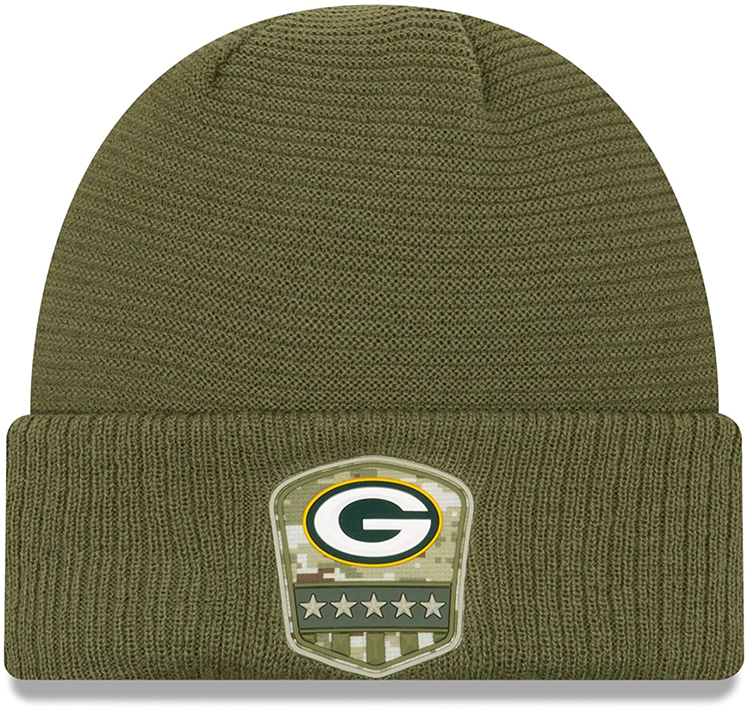 New Era 2019 Salute to Service Sideline Cuffed Sport Knit Hat