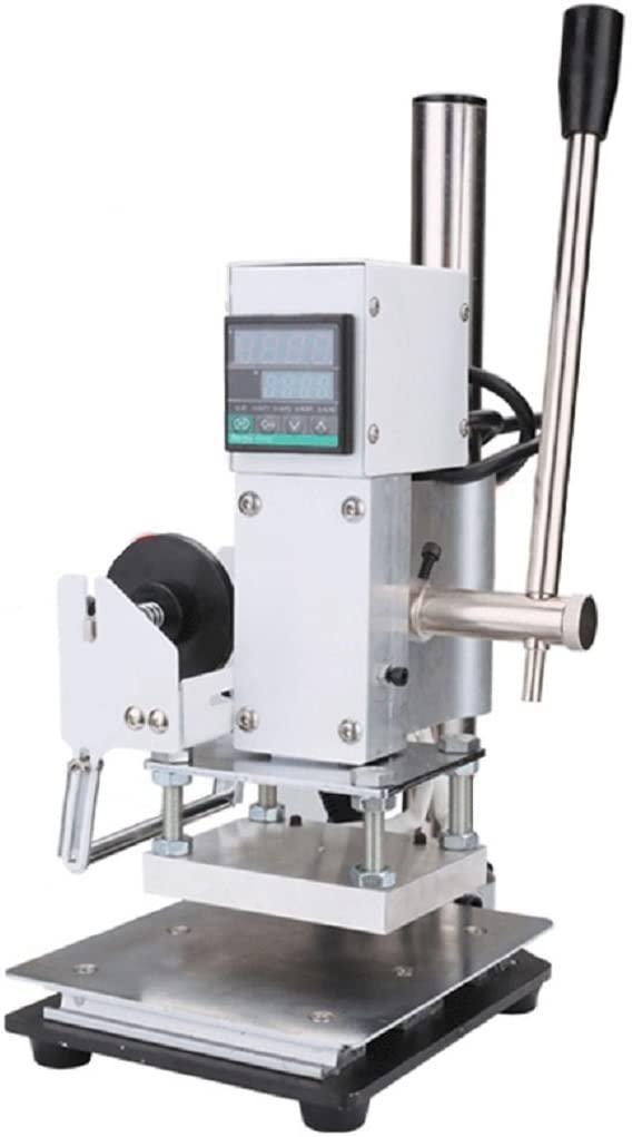 ixaer Hot Foil Stamping Machine Manual Digital Hot Foil Stamping Machine Wooden Bronzing Machine
