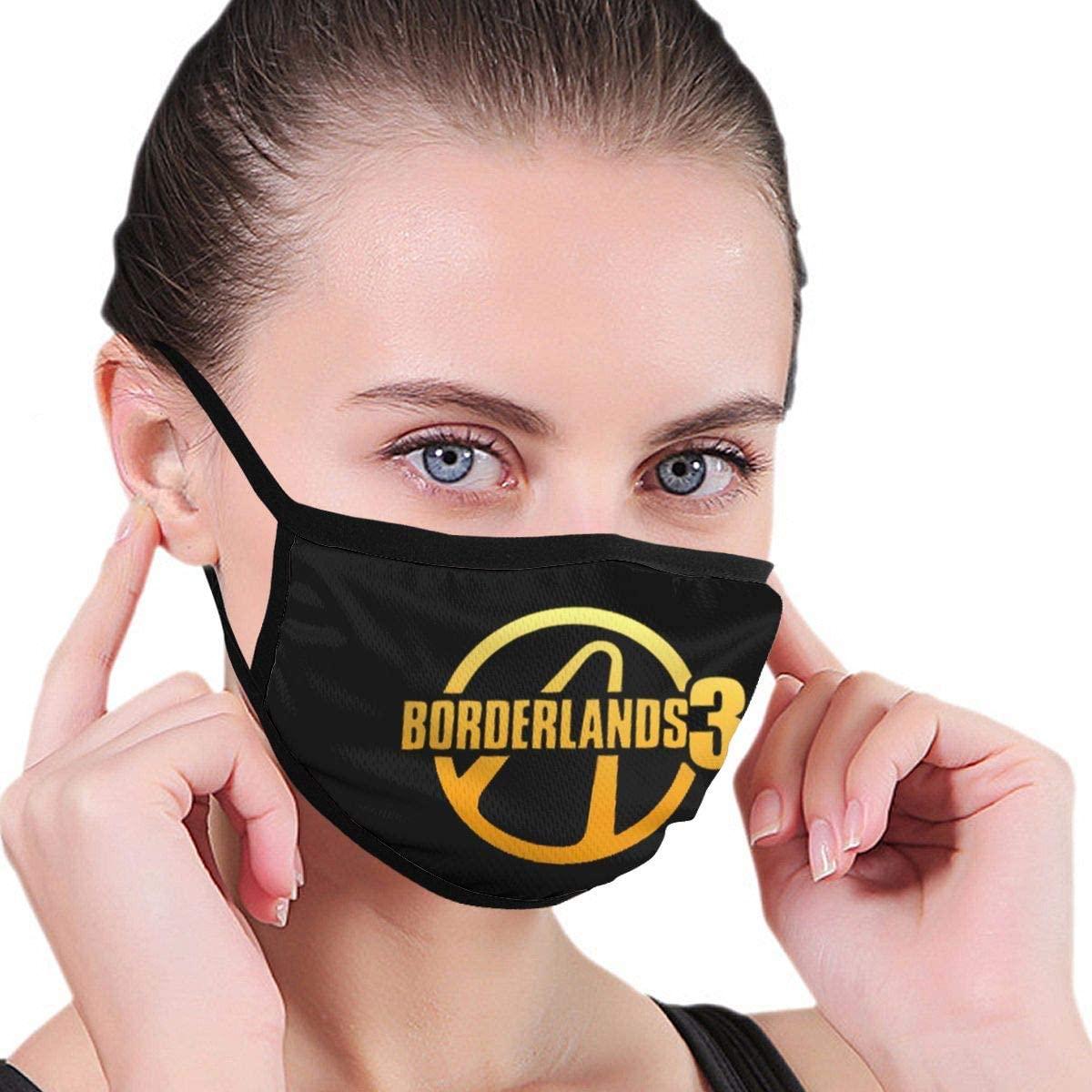 Borderlands 3 Unisex Fashion Face Bandanas Head Band Wears Scarf Face Tube Neck Scarf