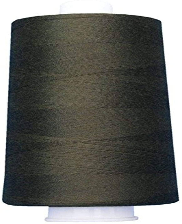 Superior Threads 13402-3069QC Omni 40W Polyester Thread, 6000 yd, Dark Olives
