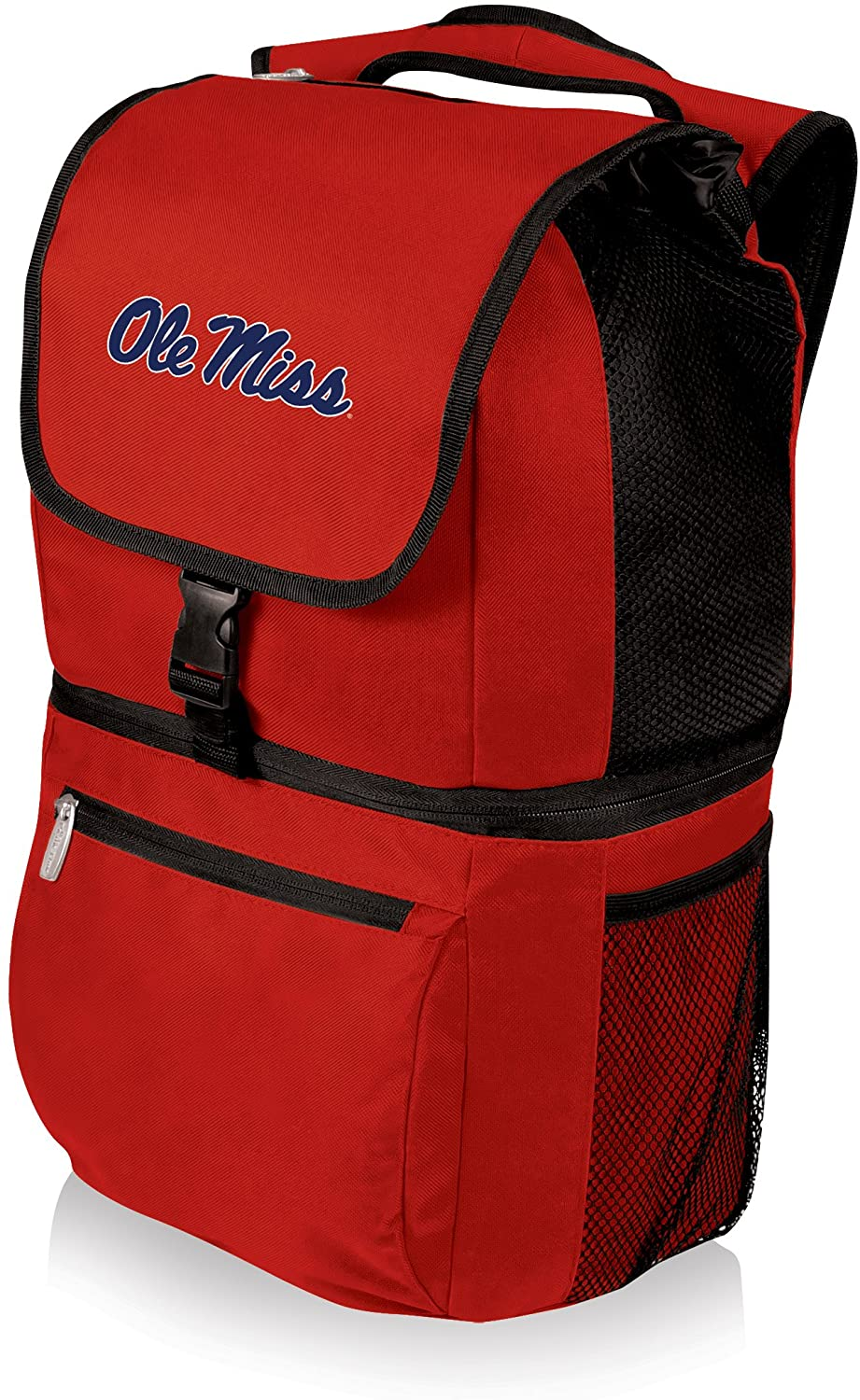 NCAA Mississippi Old Miss Rebels Zuma Insulated Cooler Backpack, Red