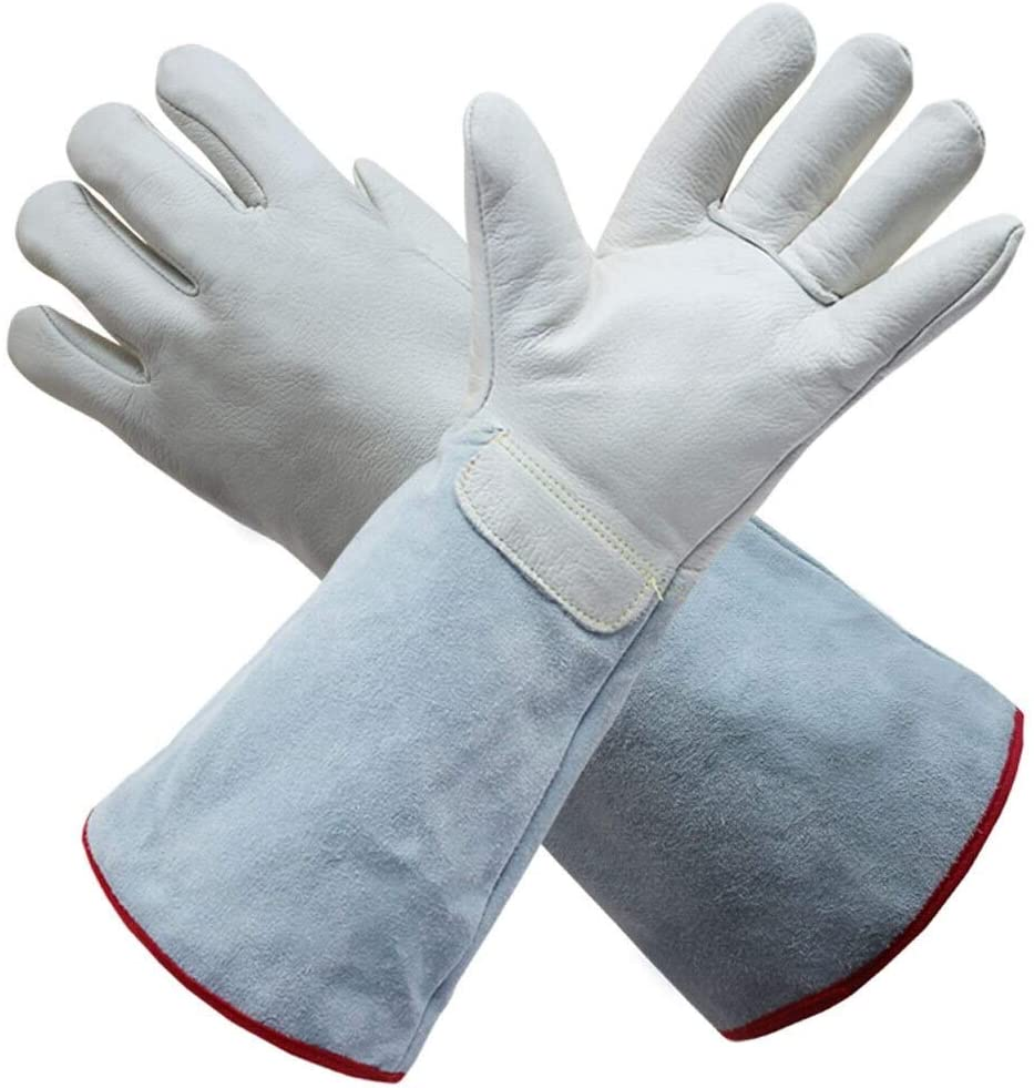 Anti-Corrosion Gloves Cryogenic Freezing Cold Liquid Oxygen and Liquid Ammonia Ice Gloves Liquid Nitrogen Protection Antifreeze Gloves (Size : 62cm)