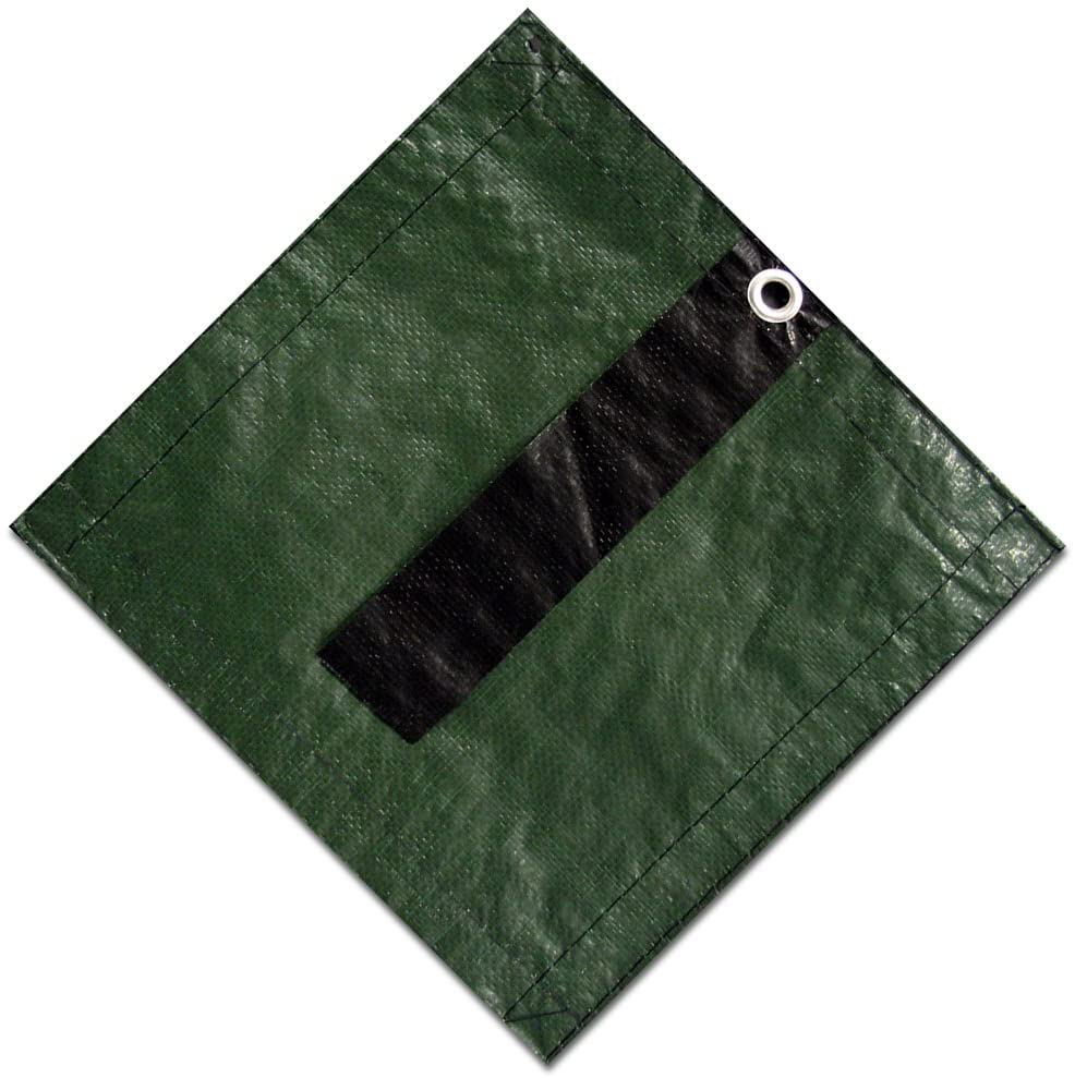 Defender In-Ground Winter Cover in Forest Green Size: 20' x 40'