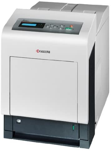 Kyocera 1102K82US0 Model ECOSYS FS-C5350DN Color Network Laser Printer, Up to 32 Pages per Minute A4 in Colour and Monochrome, Up to 9600 dpi Printing Quality with Multi-bit Technology