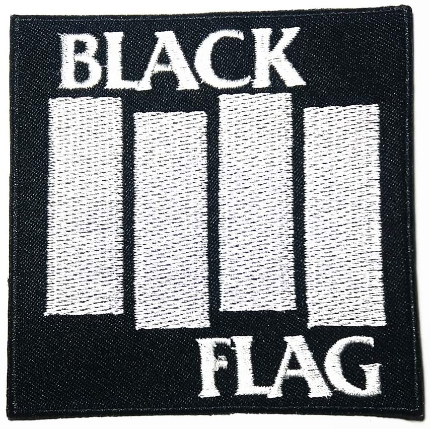 Music B American Punk Rock Post-Hardcore Hardcore Punk Band Music Logo Patch Embroidered Sew Iron On Patches Badge Bags Hat Jeans Shoes T-Shirt Applique