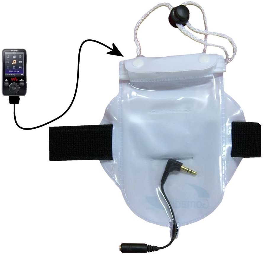 Workout Waterproof Sandproof Dustproof Bag Accessories Suitable for The Sony Walkman NWZ-E435F