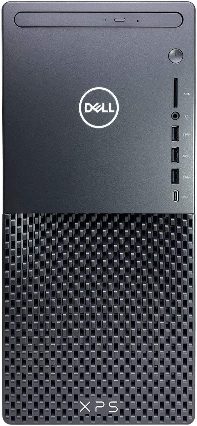 Dell XPS 8940 Tower Desktop Computer - 10th Gen Intel Core i7-10700 8-Core up to 4.80 GHz CPU, 8GB DDR4 RAM, 4TB SSD + 1TB Hard Drive, Intel UHD Graphics 630, DVD Burner, Windows 10 Home, Black