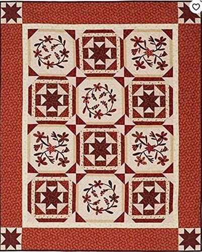 Berries & Blossoms - Janet Nesbitt - One Sister Designs - 100-8058 - Size 54 x 67