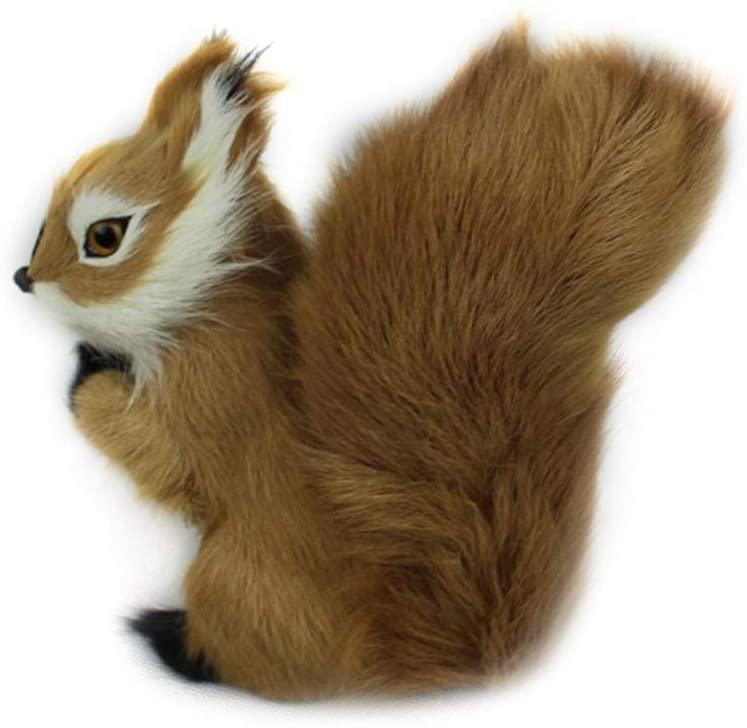 Safe Plush Toys, Mini Stuffed Toys Simulation Squirrel Stuffed Plush Toy Animal Kids Toy Birthday Gift for Children Plush Toys for Kids High end (Size : 87cm)