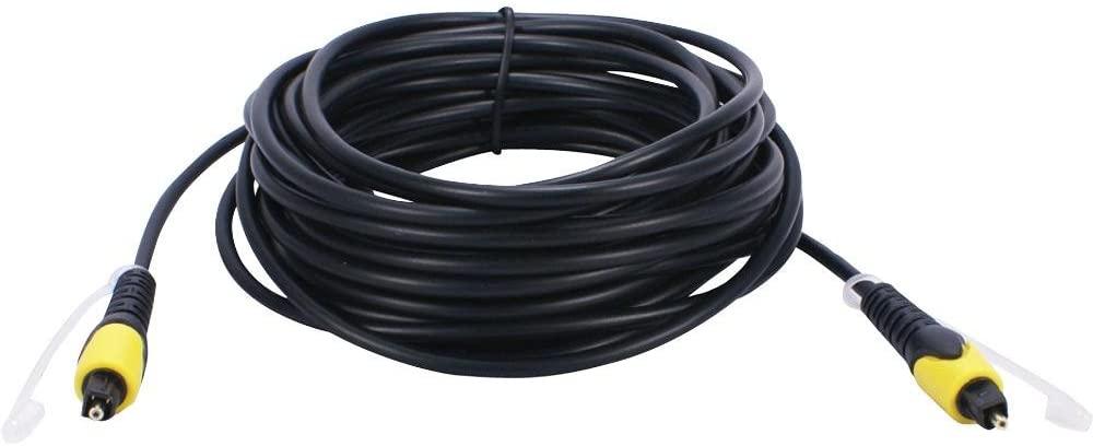 QVS FCTK-25 Fiber Optic Digital Audio Cable SPDIF