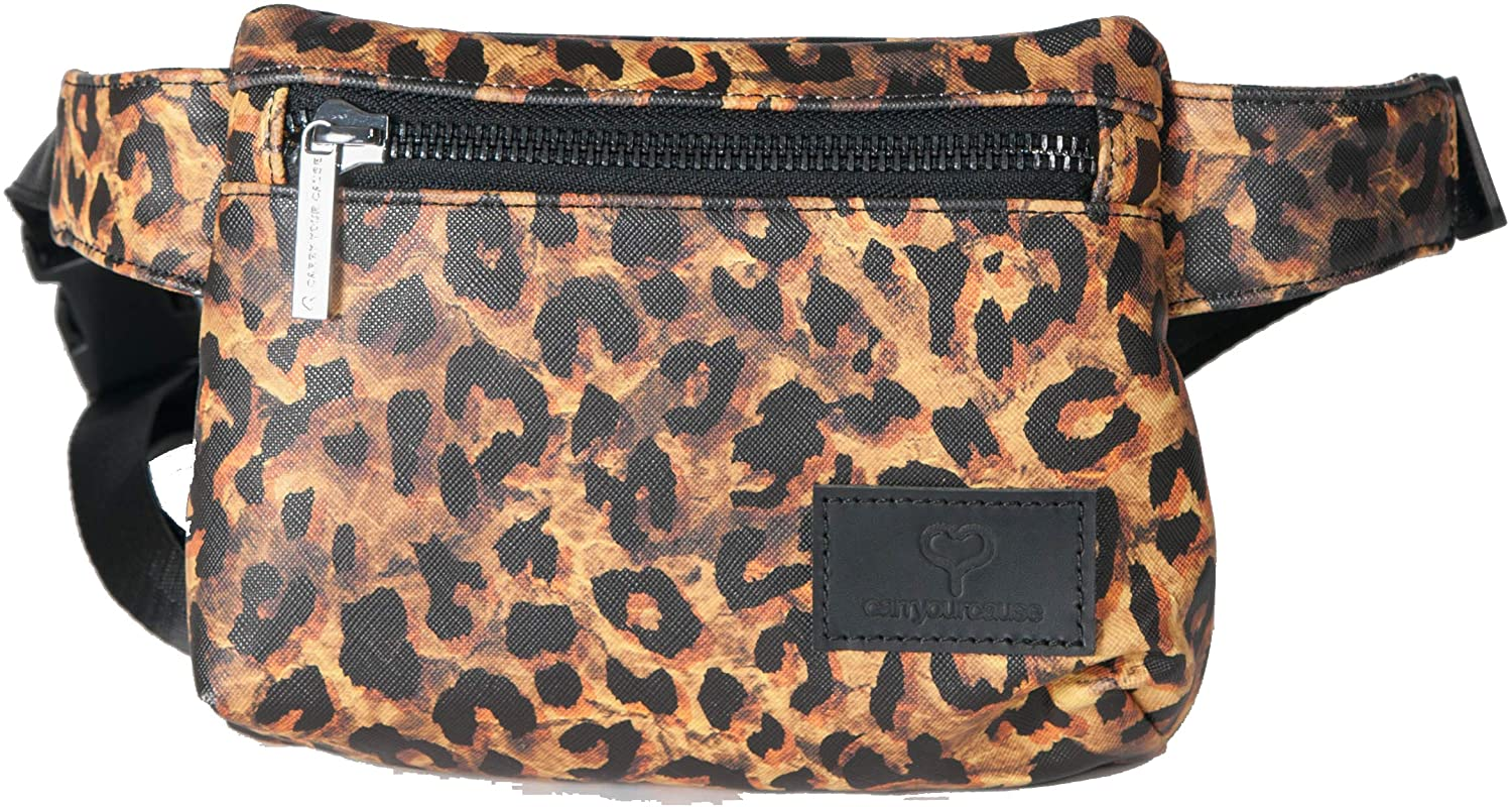 Carry Your Cause Leila Fanny Pack (Leopard)