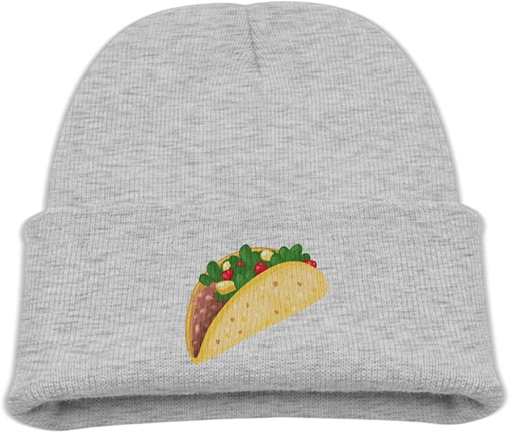 ZWZ Tacos Kid's Hats Winter Funny Soft Knit Beanie Cap, Unisex