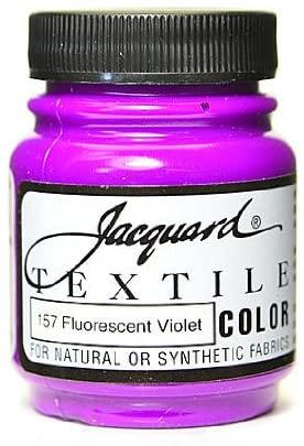 Jacquard Textile Colors fluorescent violet [PACK OF 4 ]