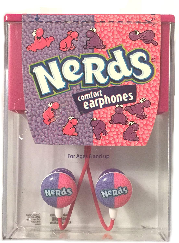 Nestle Nerds Comfort Earbuds Earphones in Ear Headphones