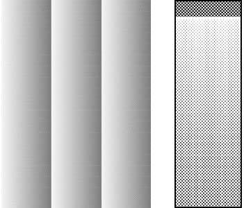 Deleter Screen Tone Jr JR-191 [ Halftone Gradation 5%-60%/60L ] [Sheet Size 182x253mm (7.16x9.96)] For Comic Manga Illustration