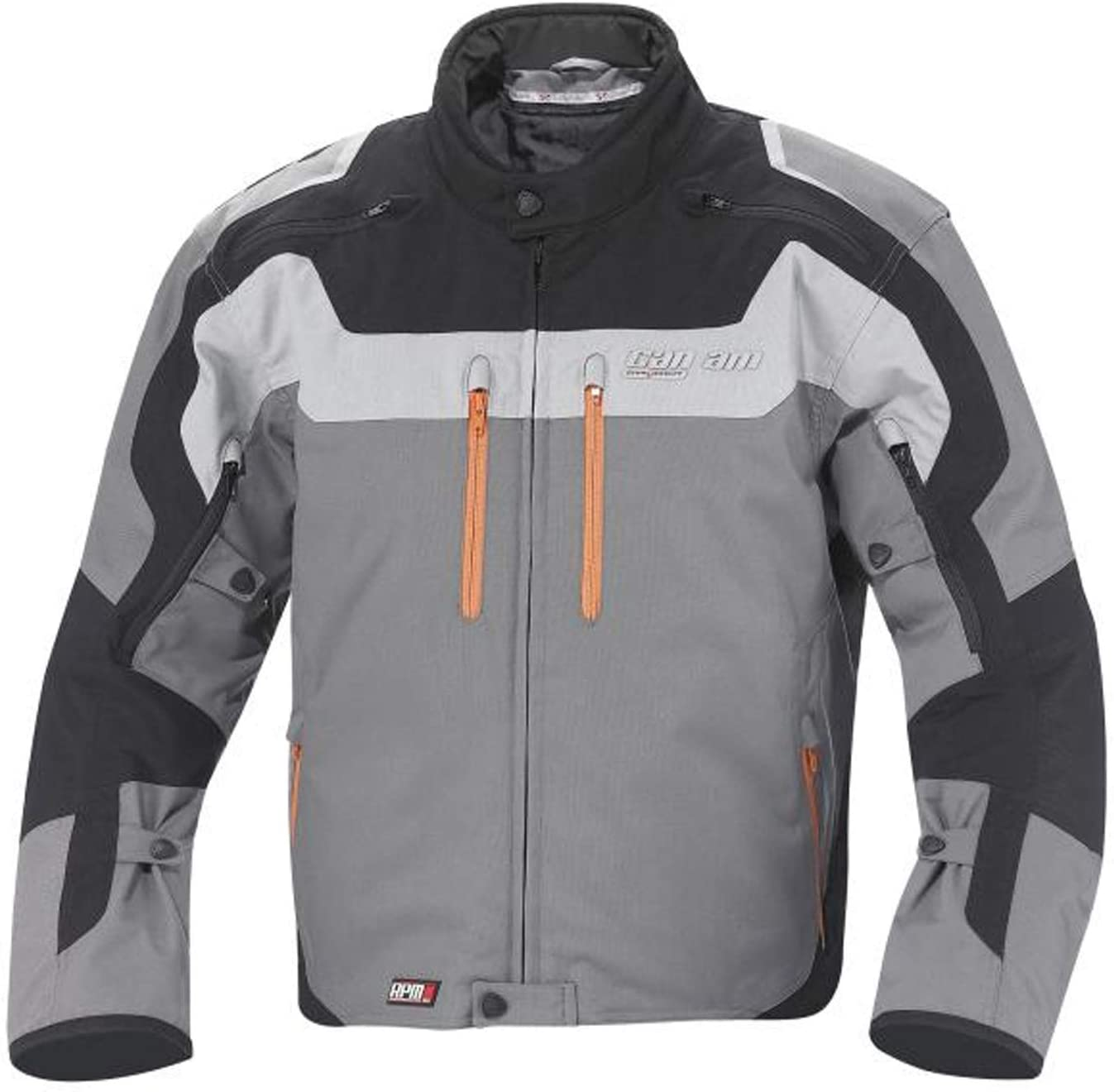 Can-Am Spyder New Mens Roadster Caliber Motorcyle Riding Jacket Large Magnesium