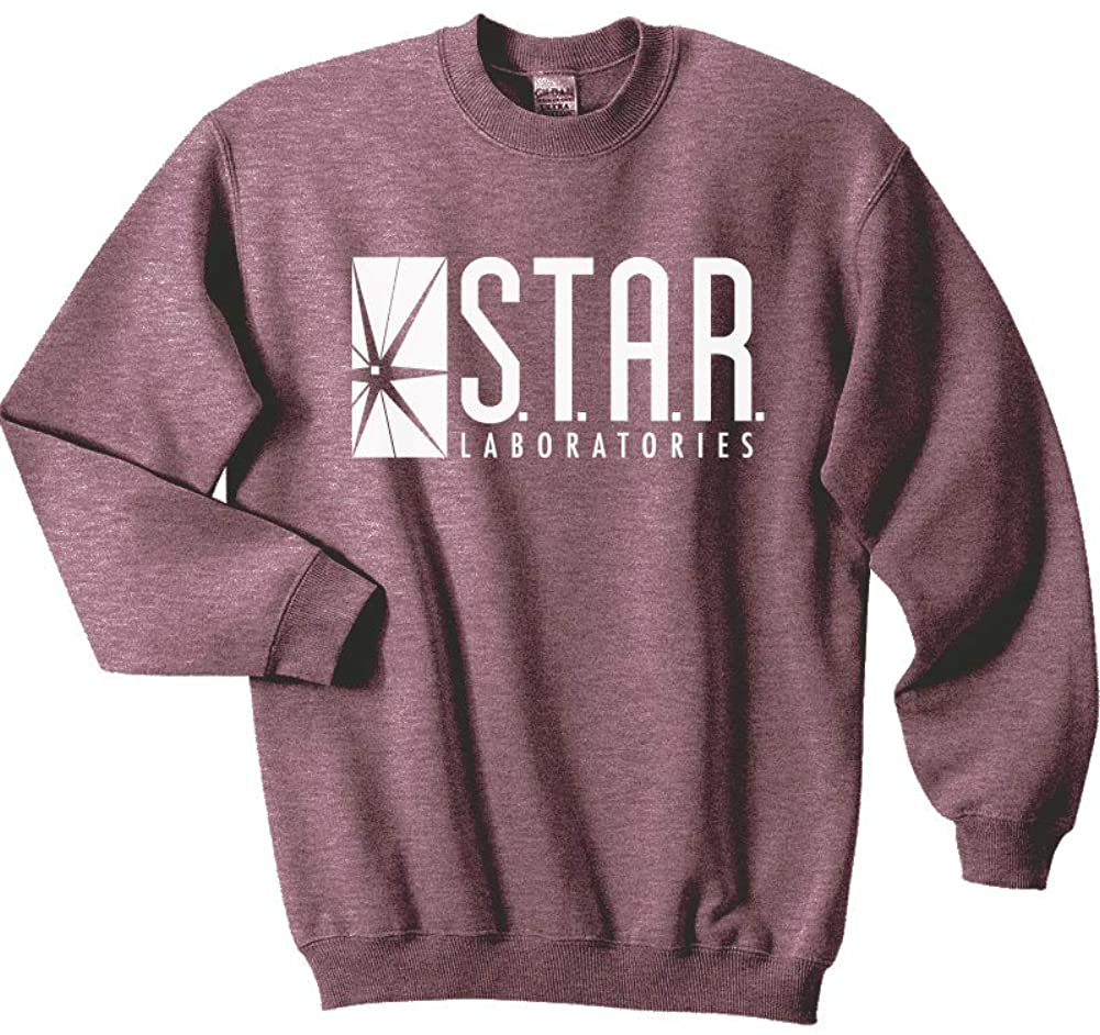 Mars NY Unisex Team Flash Star Labs Crewneck Sweatshirt