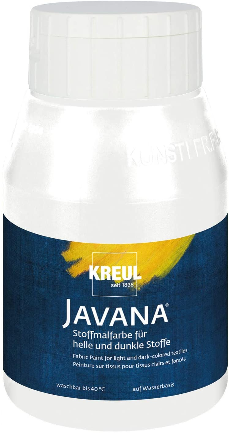KREUL Javana Fabric Paint for Light and Dark Fabrics 500 ml