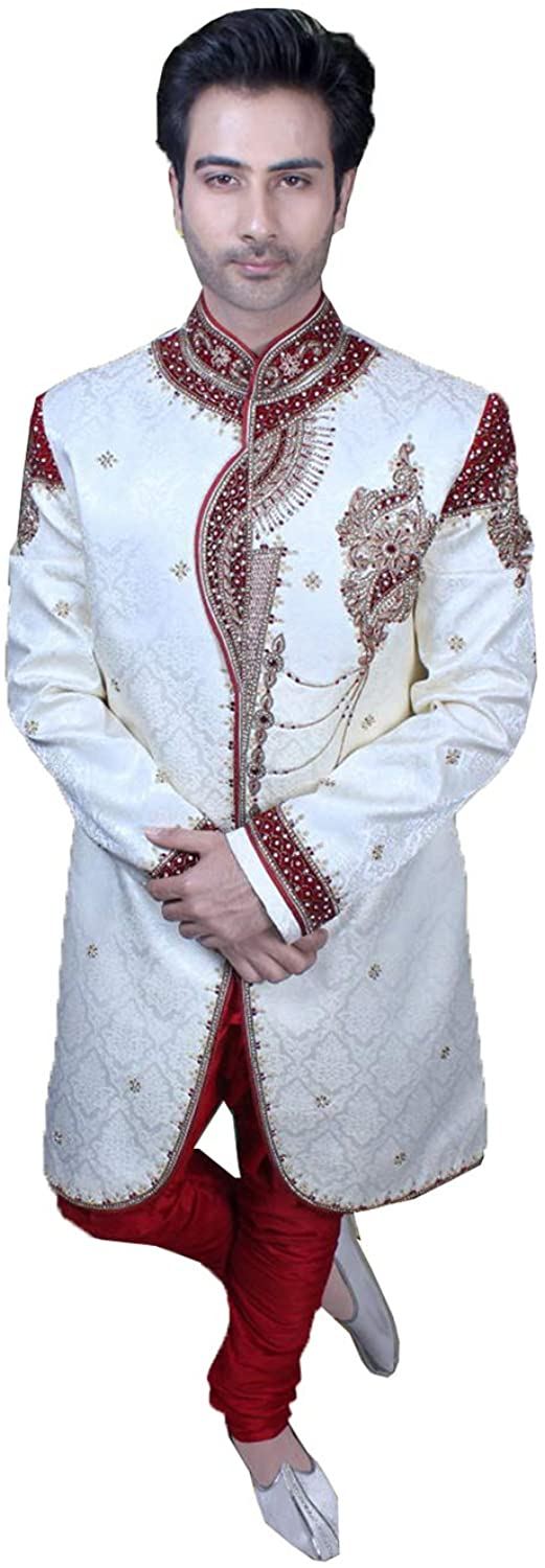 Indian Designer Partywear Traditional Ethnic Mens Indo Western.