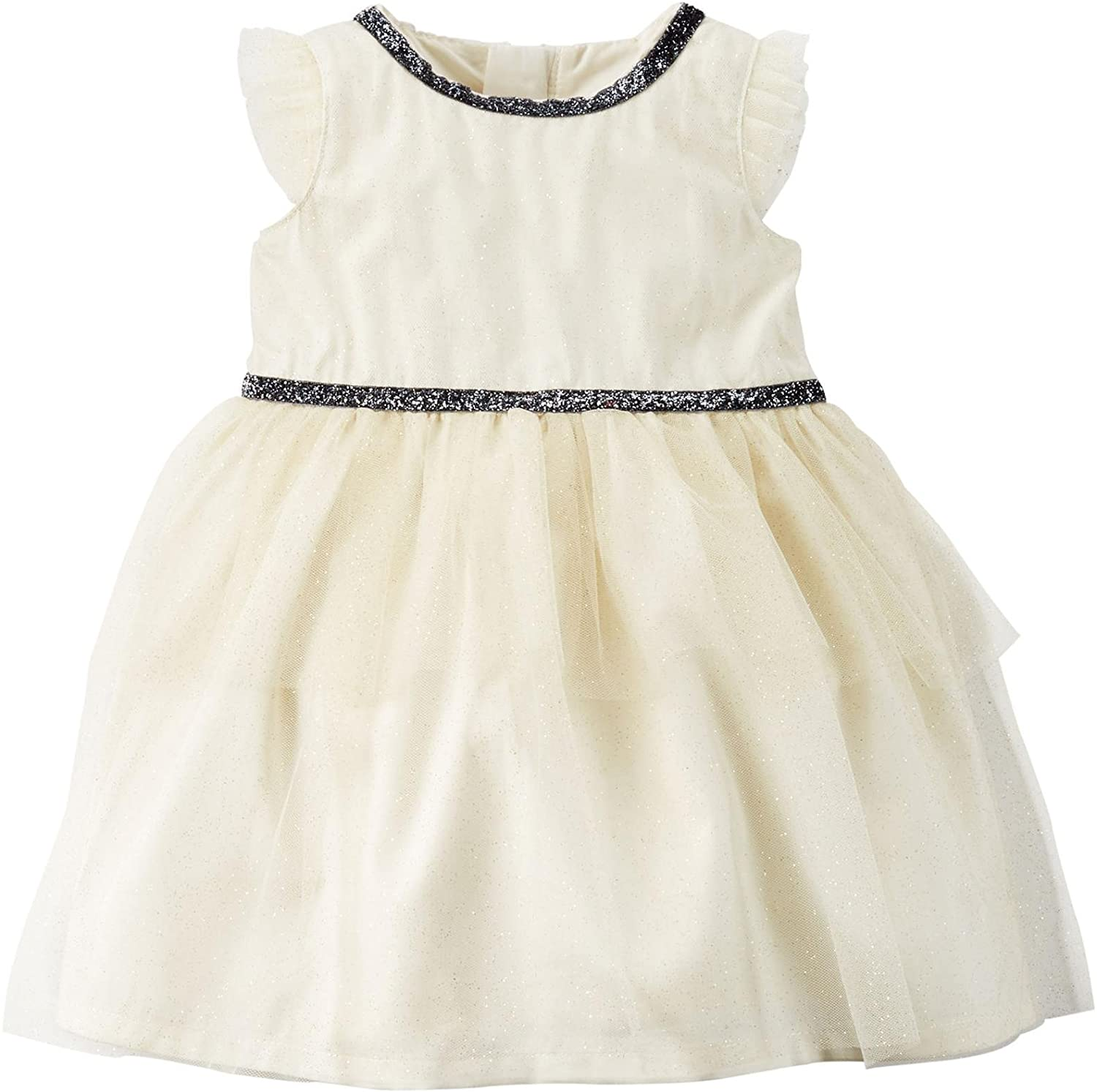 Carter's Baby Girls' Tiered Dress (Baby) - White - 24 Months