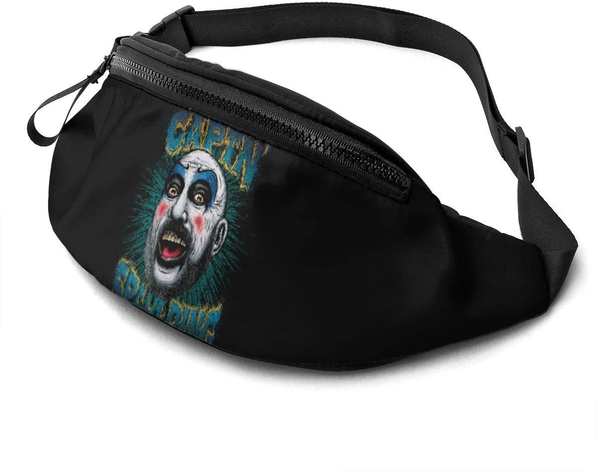 Qwertyi Captain Spaulding Unisex Running Waist Packs Casual Waist Bag, Can Hold Small Objects Such As Mobile Phones