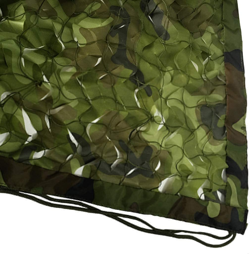 XQY Shade Net,Woodland Camo Net Uv Resistant Shade Military Lightweight Durable Camouflage Net for Sunshade Decoration Hunting Blind Shooting Camping Photography,5M×10M