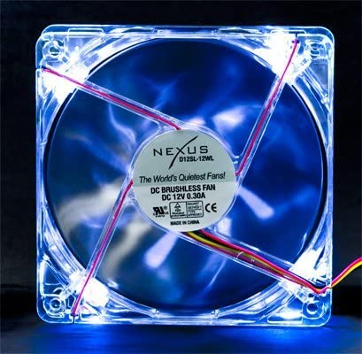 Nexus Silent 120mm White LED Case Fan