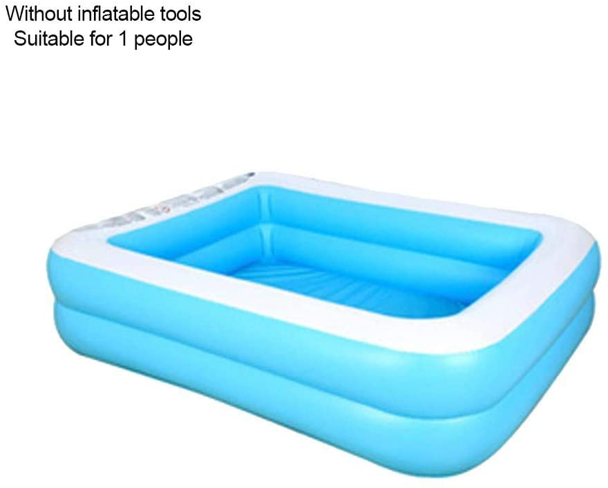Foerteng-us Children's Inflatable Swimming Pool Paddling Pool Large Household Family Baby Kids Thick Pool