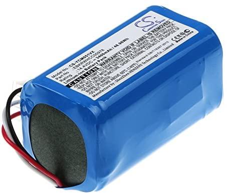 3400mAh Replacement for iCLEBO ARTE YCR-M05, POP YCR-M05-P, Smart YCR-M04-1 Battery, P/N EBKRTRHB000118-VE, EBKRWHCC00978