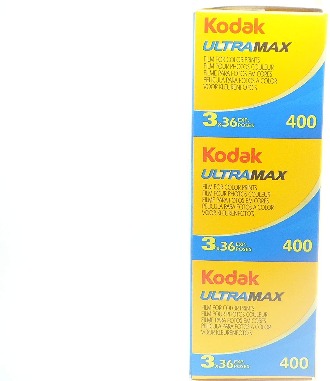 KODAK Ultramax 400 135 36 exp X3