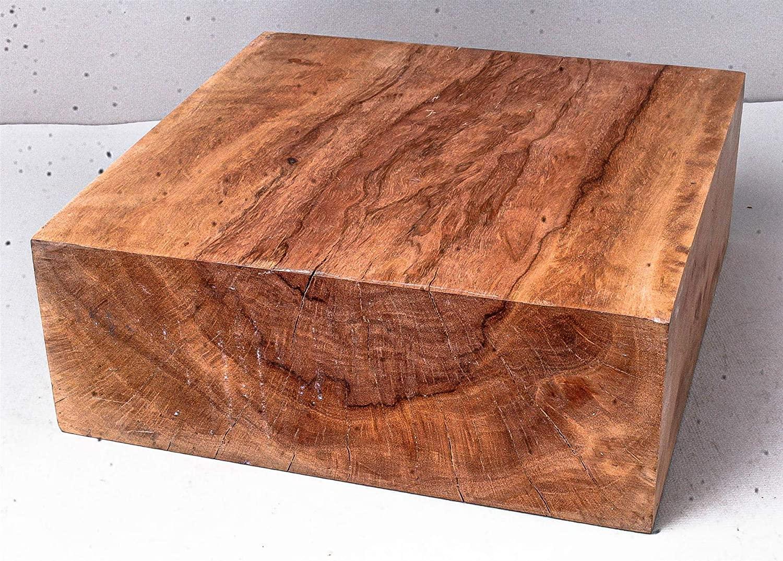 Longan Exotic Wood Turning Blank 3 X 8 X 8 LNG1017