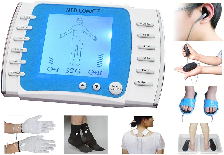 Nephropathy Acupuncture Massage Conductive Gloves Socks Medicomat