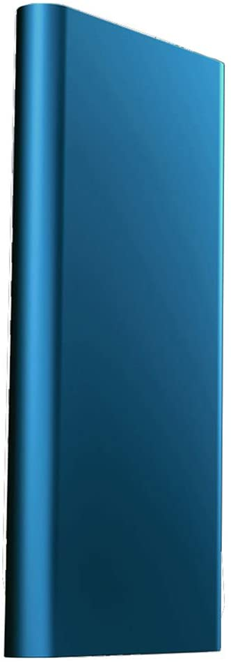 NZYMD 128GB SSD Expansion Solid State Drive Portable External USB 3.0 Fashion and Safety for PC Laptop and Mac,Blue