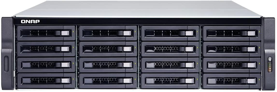 QNAP TS-1673U-8G-US 16-Bay NAS/iSCSI IP-SAN,10GbE, Single PSU