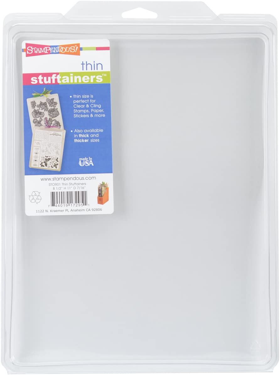 Stampendous Thin Storage Solutions 8-1/2-Inch by 11-Inch by 0.44-Inch