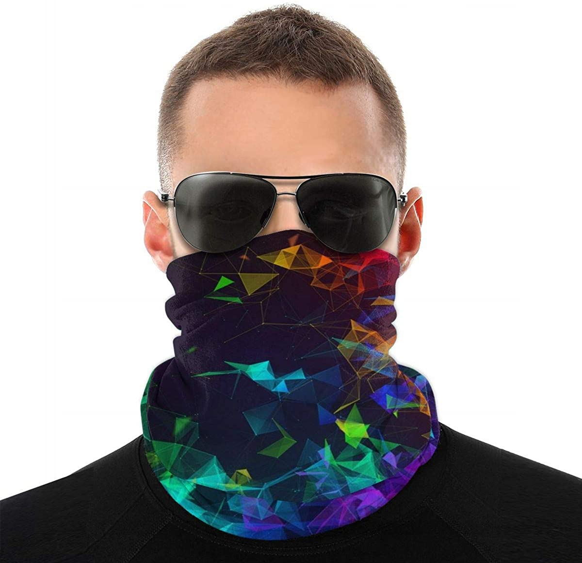 Cute Hamster Seamless Neck Gaiter Magic Face Scarf Bandana Headwear Mouth Cover For Fishing Motorcycling Running