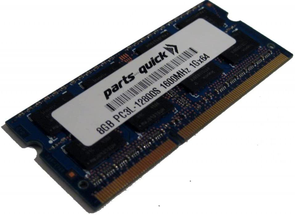 8GB Memory for HP Pavilion Mini Desktop 300-030 DDR3L 1600MHz RAM Upgrade (PARTS-QUICK Brand)