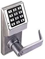 Alarm Lock DL1225/10B2 Trilogy Aluminum Narrow Stile Digital Keypad Thumb Turn Lock
