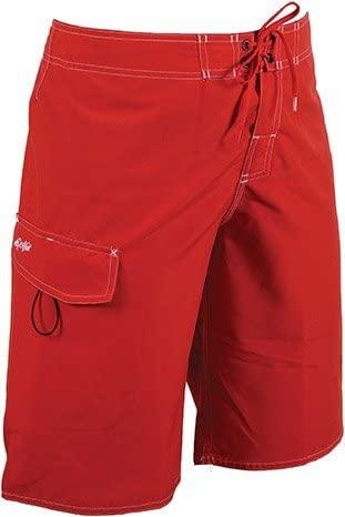 Dolfin Swimwear Fitted Board Short - Red, 38