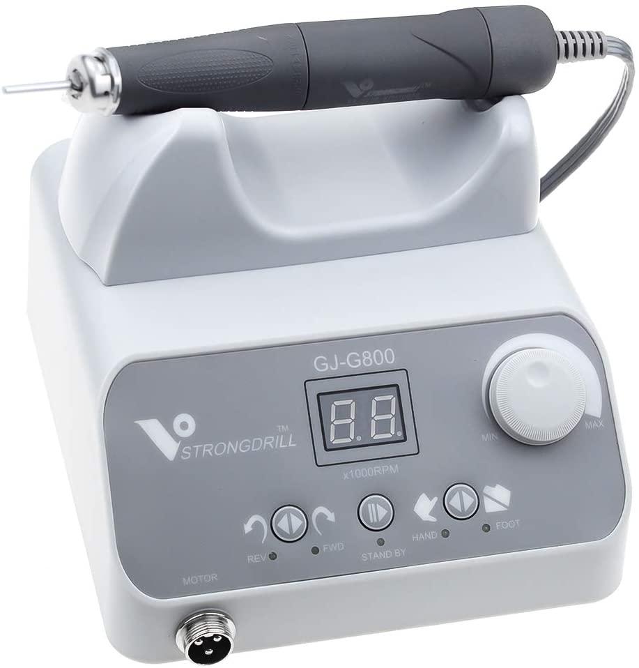 APHRODITE Brushless Micromotor Polishing Machine GJ-G800 with 50000RPM Brushless Handle Q9 for Lab Polishing,Jewelry Making Polishing Whitening