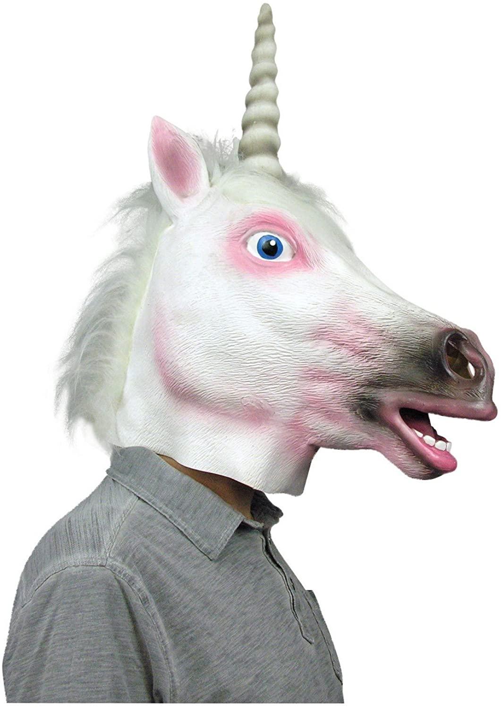 Deluxe Latex Unicorn Mask