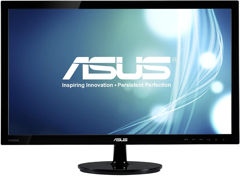 ASUS VS278Q-P 27in Full HD 1920x1080 1ms DisplayPort HDMI VGA Monitor (Renewed)